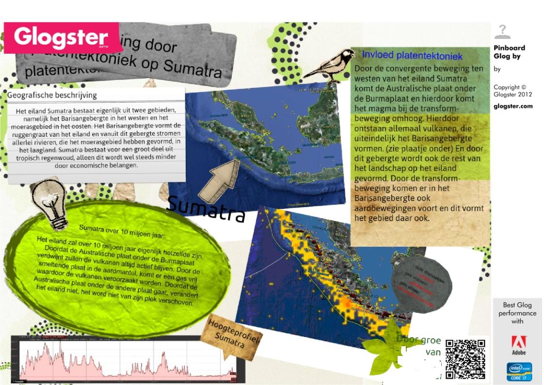 Describing tectonics of Sumatra with Google Earth